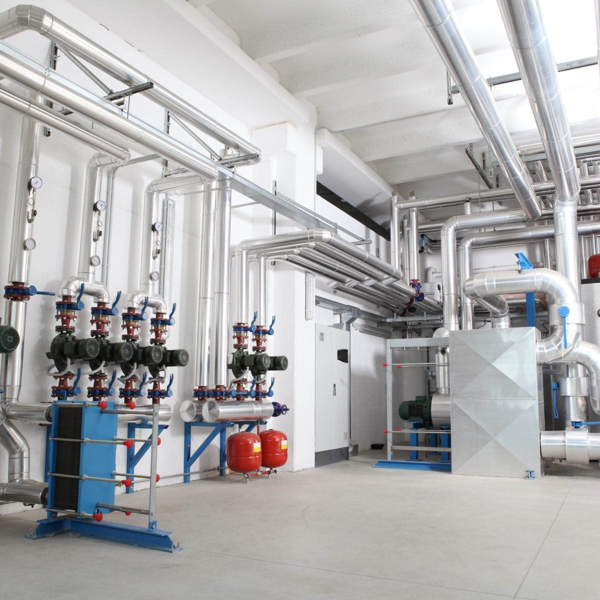 District Heating Plant Room Image