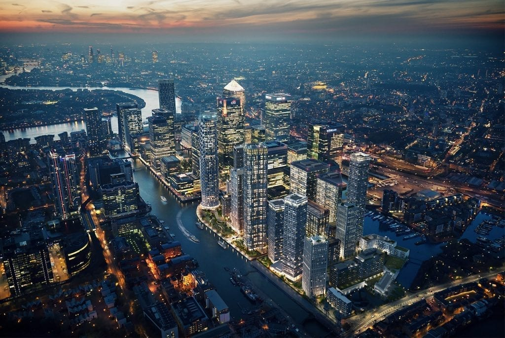 Evinox Unit's Perfect Fit at Canary Wharf's New District, Wood Wharf