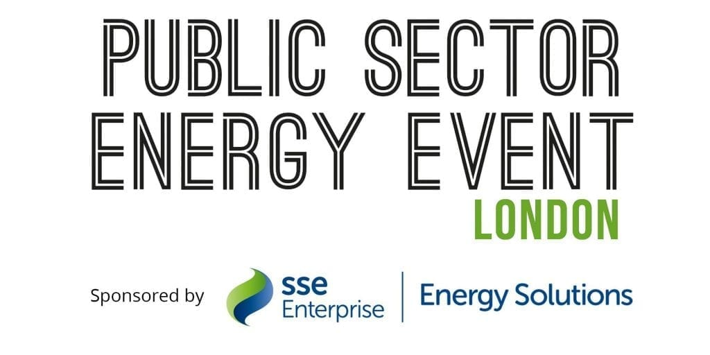 Come and see us at Public Sector Energy Event London