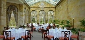 The Orangery dinner layout