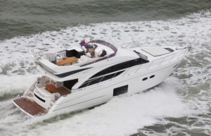 Princess Flybridge powerboat