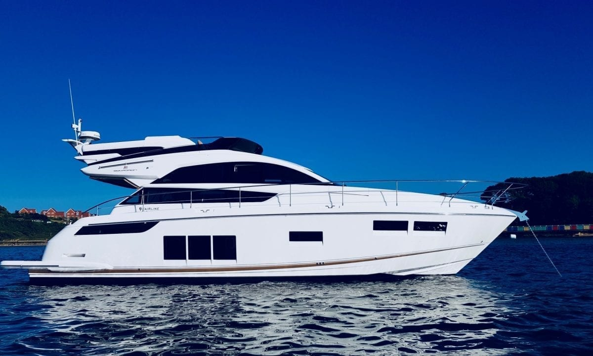 Fairline Squadron for hospitality events