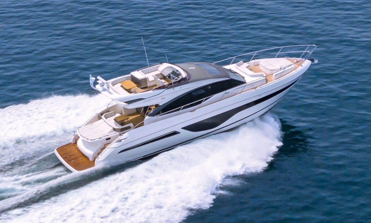 Princess S66 powerboat Eventscape charter