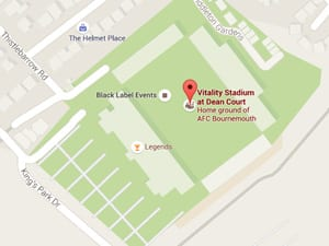 AFC map