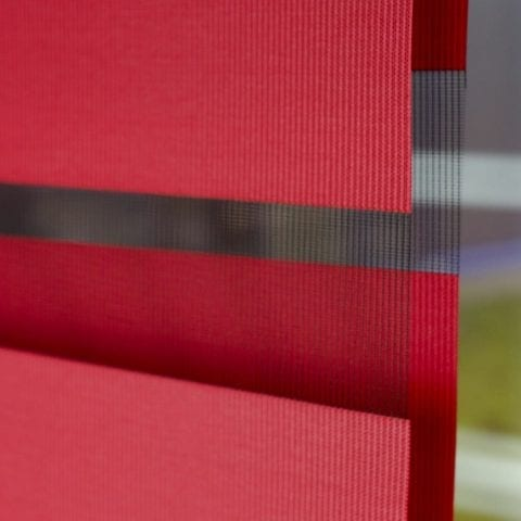 Detail of the fabric on a Roller blind from Insignia Blinds