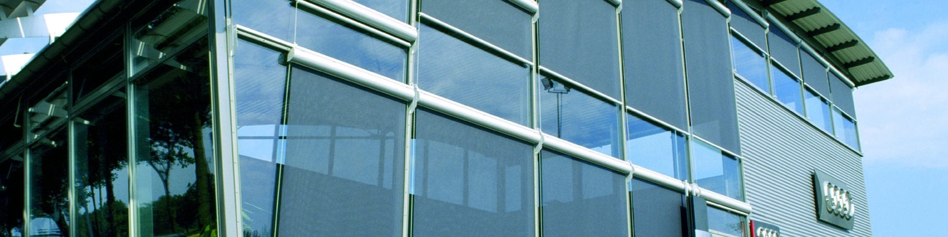 Commercial roller blinds from Insignia Windows