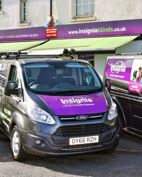 Insignia Blinds vans
