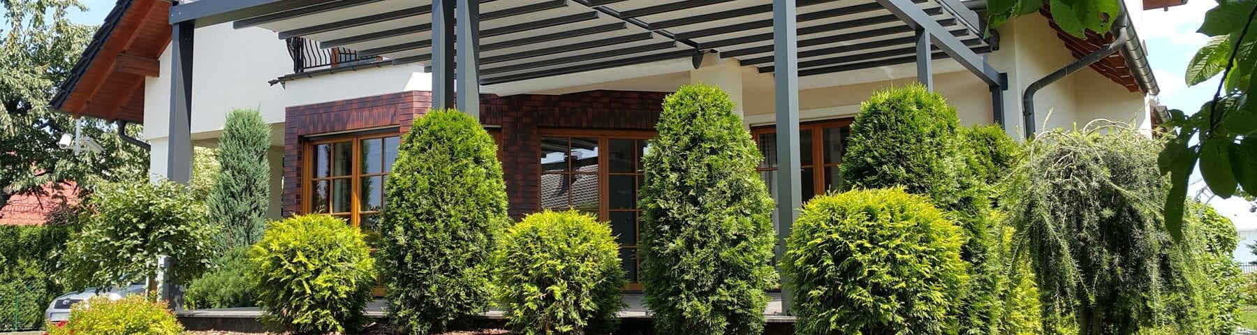 Pergola from insignia blinds