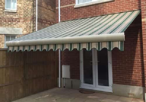 Palladio awning from insignia