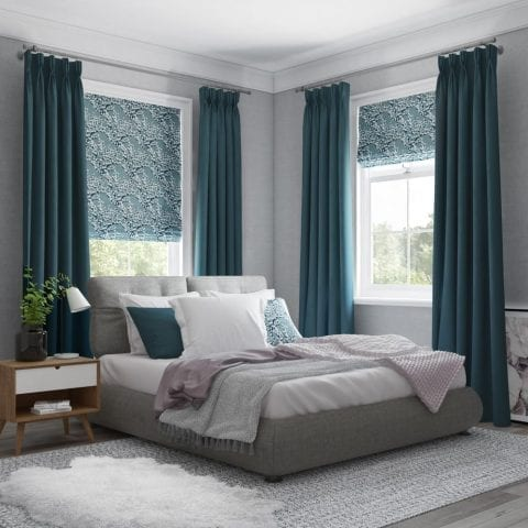 Roman blind from Insignia Blinds