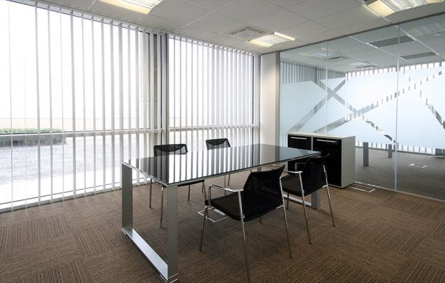Commercial Vertical Blinds from Insignia Blinds
