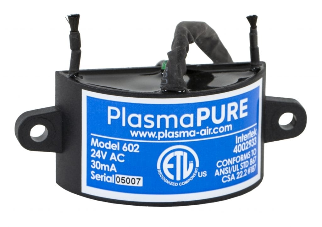 Plasma Air's bipolar ionisation technology