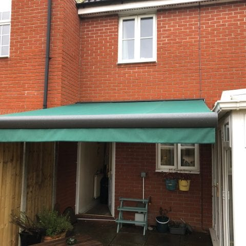Residential Arm Awning