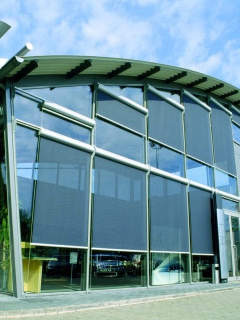 Commercial roller blinds from Insignia