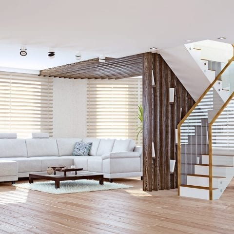 Living Room Blinds - Insignia Blinds