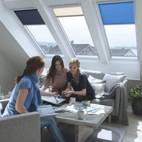 Velux roller blinds from Insignia