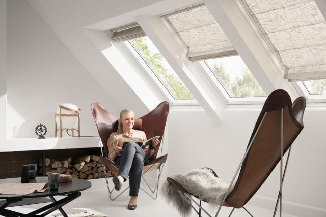 Velux roman blinds from Insignia