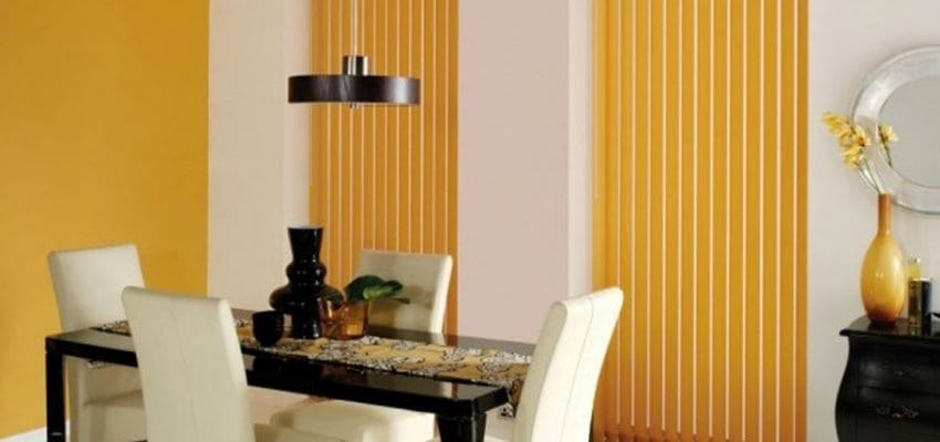 Vertical Blinds in domestic home
