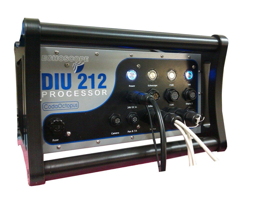 CodaOctopus Products' DIU used with Echoscope